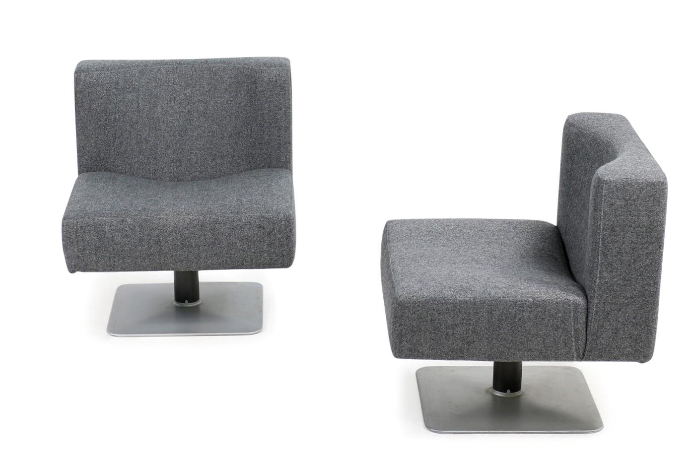 Pair Of 1970s Modular Lounge Chairs Herbert Hirche For