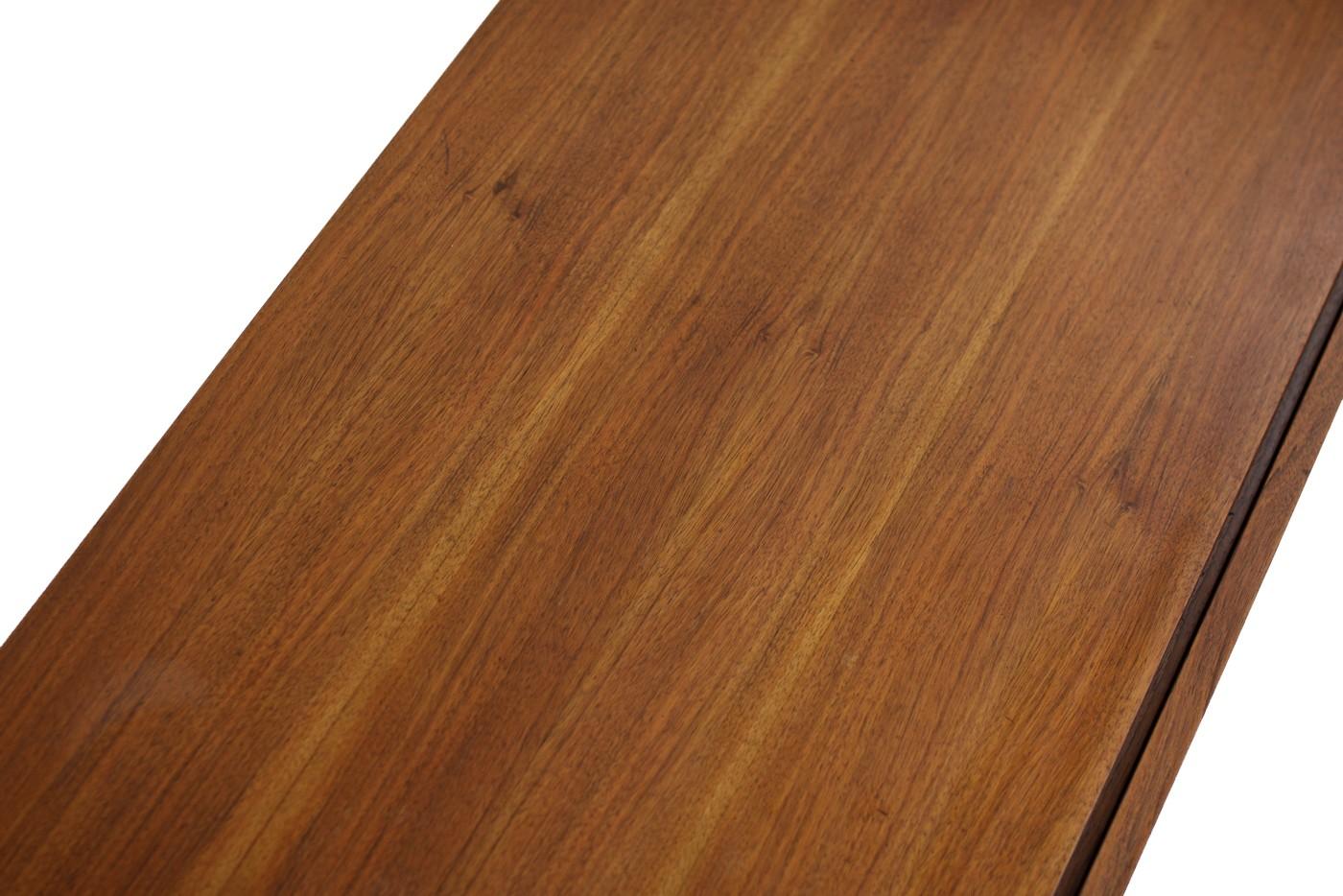 mid century modern minimalist teak sideboard germany 1960s. Black Bedroom Furniture Sets. Home Design Ideas