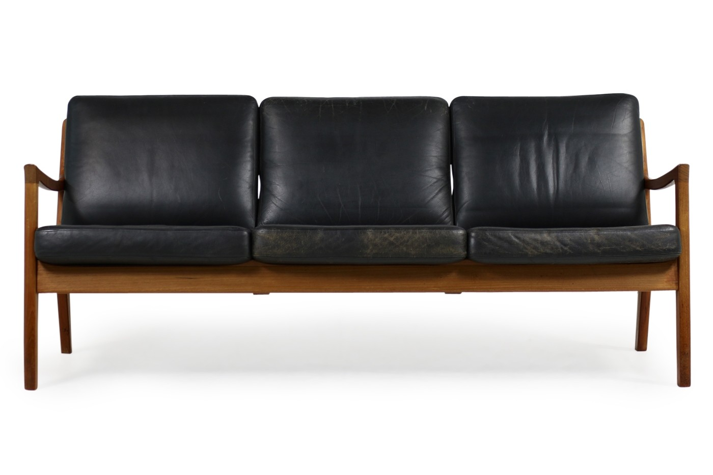 1960s danish modern vintage sofa by ole wanscher in teak for Sofa ankauf