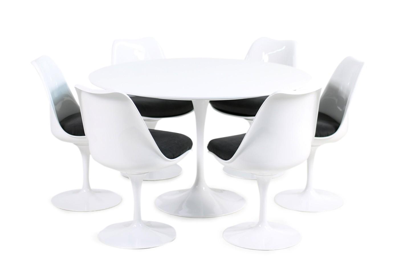 tulip table and chairs. Neubezug 60er Tulip Chairs, Table, Eero Saarinen Für Knoll International, Original, Table And Chairs F