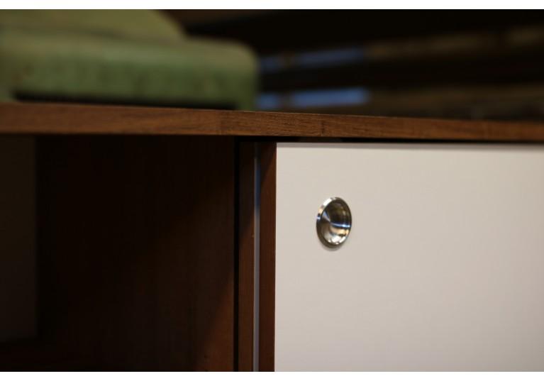 60er Teak Sideboard, Nathan Lindberg Design, Mid Century Modern, Florence Knoll George Nelson Style