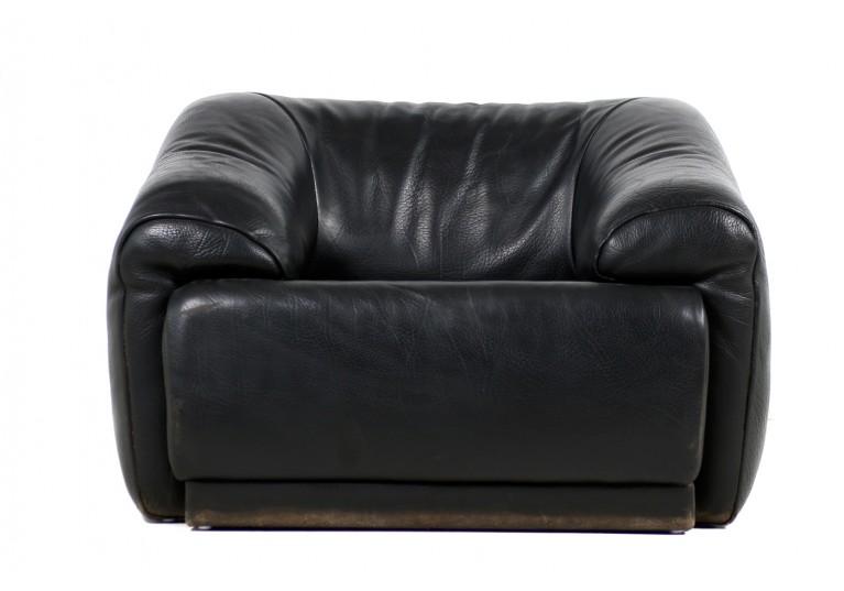 70er Sessel, Ledersessel, Lounge Chair, desede style, buffalo leather