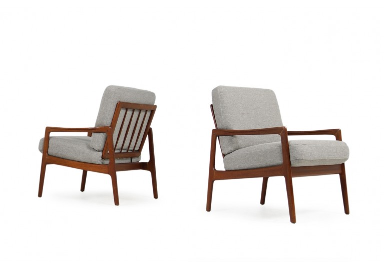 60er Teak Sessel, Lounge Chairs, Easy Chairs, Denmark, danish modern design