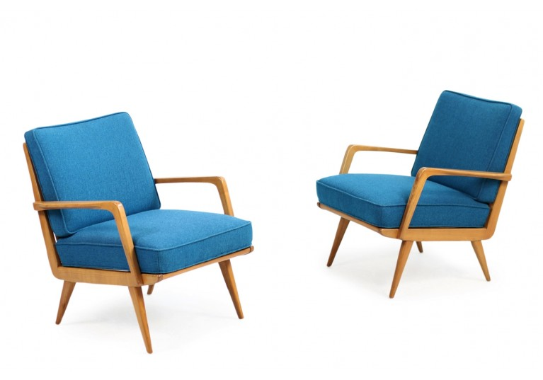 50er Sessel, Buche, ES Eugen Schmidt, Germany Mid Century Modern, minimalconcept