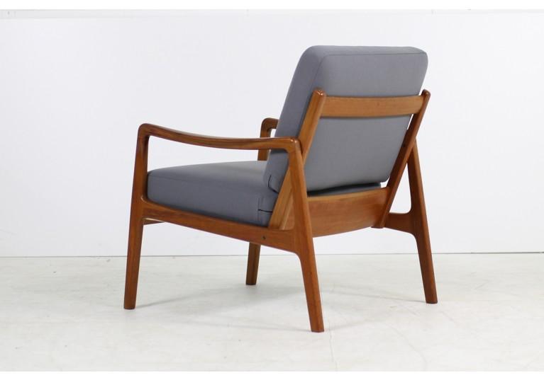 60er Teak Sessel, Ole Wanscher, Model 109 Danish Modern, France & Son, Danish Modern