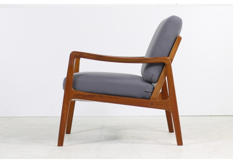 60er Teak Sessel, Ole Wanscher, Model 109 Danish Modern, France & Son, Danish Modern