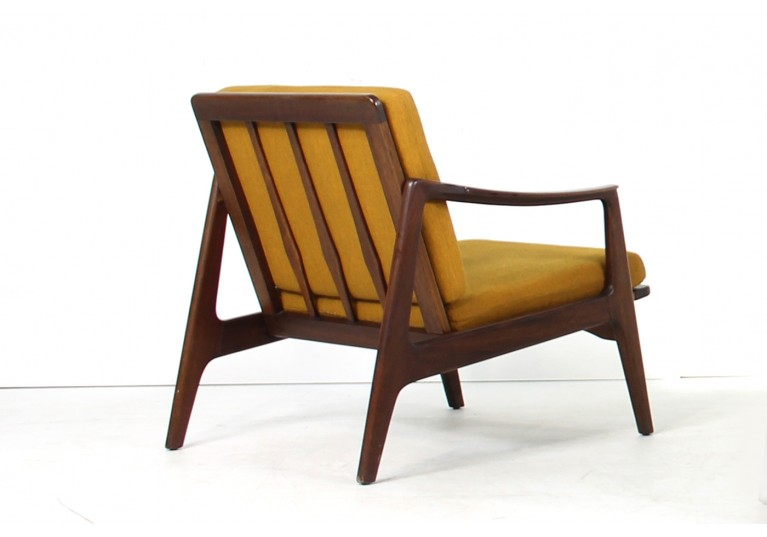Beautiful 1960s Teak Easy Chair Mid century Modern Design