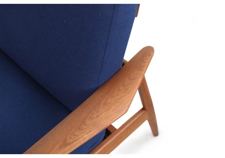 Arne Vodder 1960s Teak Easy Chairs Mod. 164 Danish Modern Design