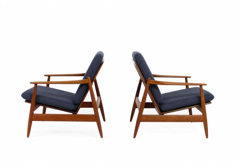 60er Teak Sessel, Poul M. Volther für Frem Rojle, Denmark, Easy Chairs