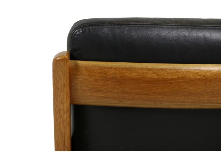 60er Sessel, Teak & Leder, Ole Wanscher, Senator Series, France & Son Denmark, danish modern mid century, 50er Teak Easy Chair