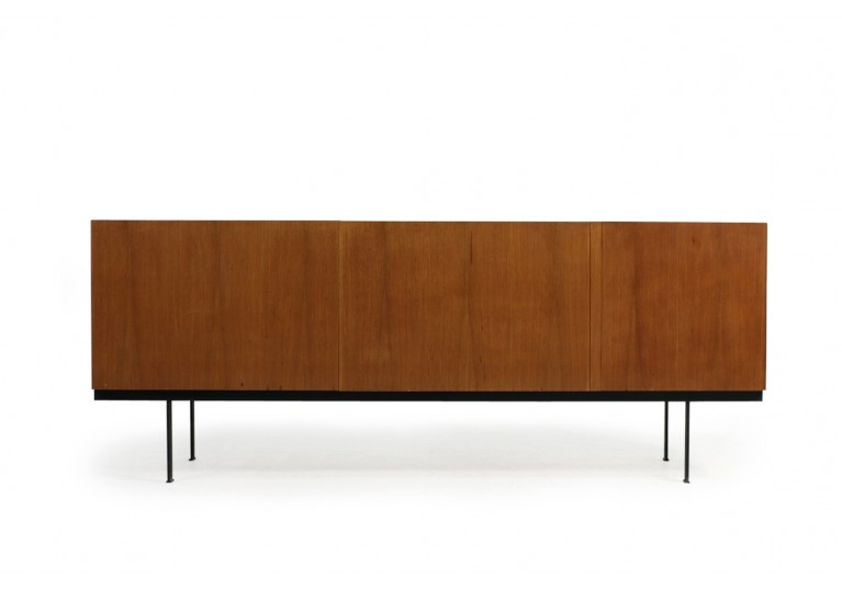 Minimalistisches Teak Sideboard, 60er, in the manner of Dieter Waeckerlin, Behr