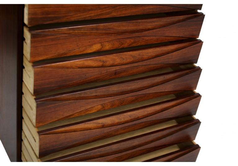 60er Kommode, Arne Vodder, chest of drawers, palisander, rosewood, danish modern