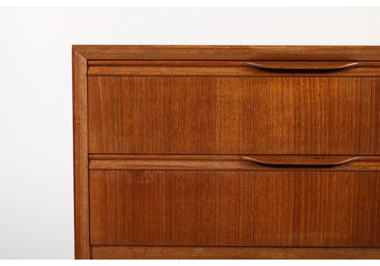 60er Teak Kommode, chest of drawers, danish modern, henning jorgensen, denmark, sideboard, 50er