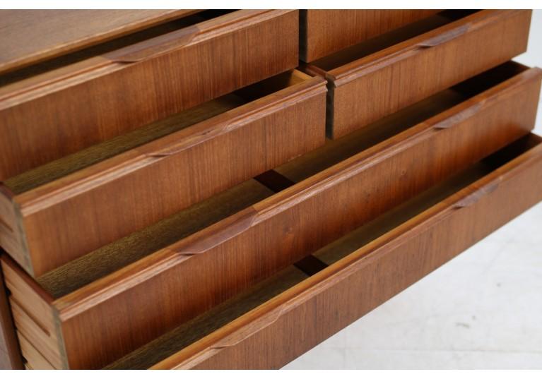 60er Teak Kommode, chest of drawers, danish modern, henning jorgensen, denmark, sideboard, 50er