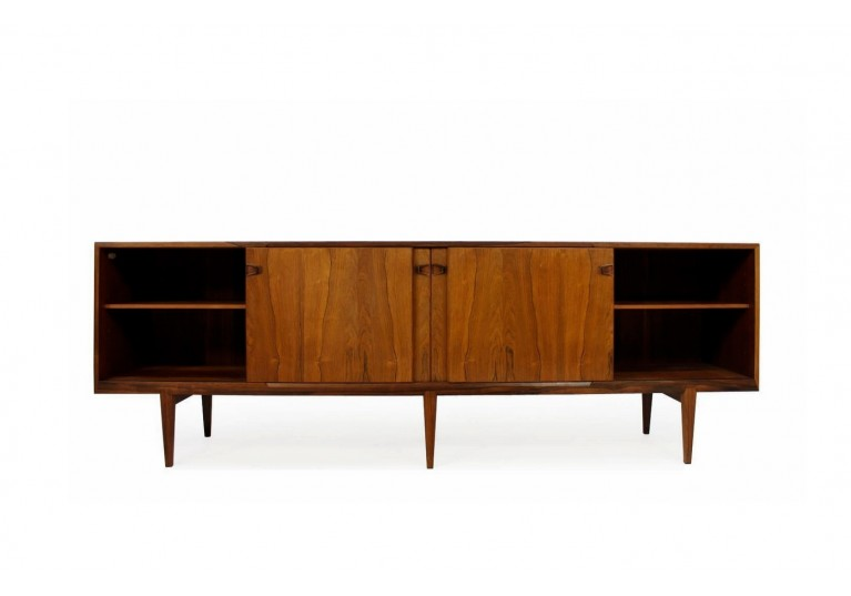 60er Sideboard, Rosengren Hansen, Model 48, Danish Modern, Palisander, Rosewood