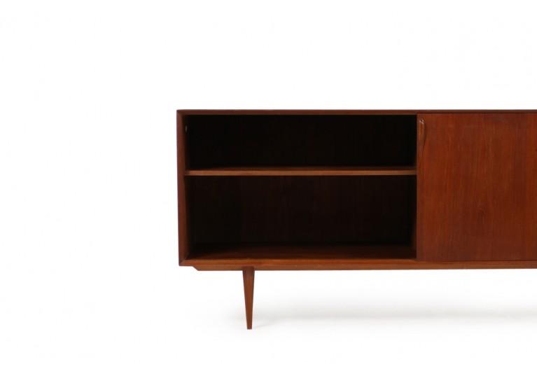 60er Teak Sideboard, Rosengren Hansen für Brande Mobler, Danish Modern