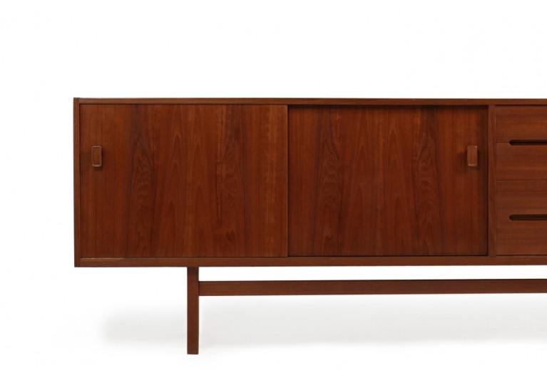 60er Teak Sideboard, Nils Jonsson Model Grand, Hugo Troeds, Schweden, 70er