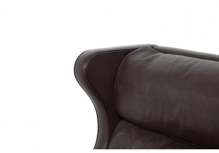 60er Wingback Sessel, Borge Mogensen, 2202 und 2204, Fredericia Denmark