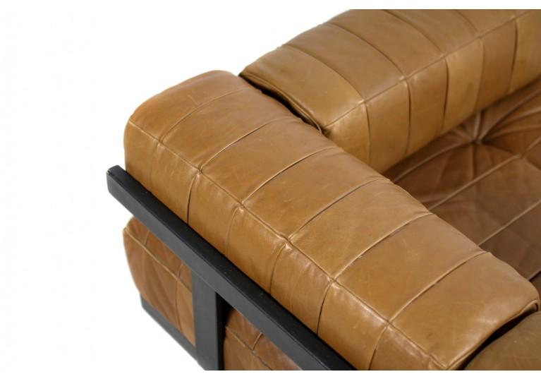 70er Leder Sofa, De Sede Daybed, DS 80