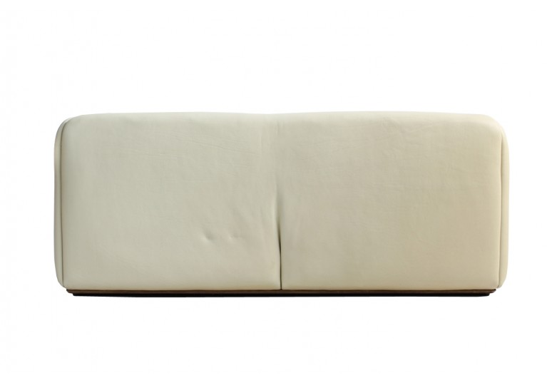 1970s De Sede DS 47 Buffalo Leather Sofa with Extendable Seat No. 1