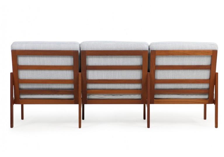 60er Teak Sofa, Illum Wikkelso, danish modern, 70er