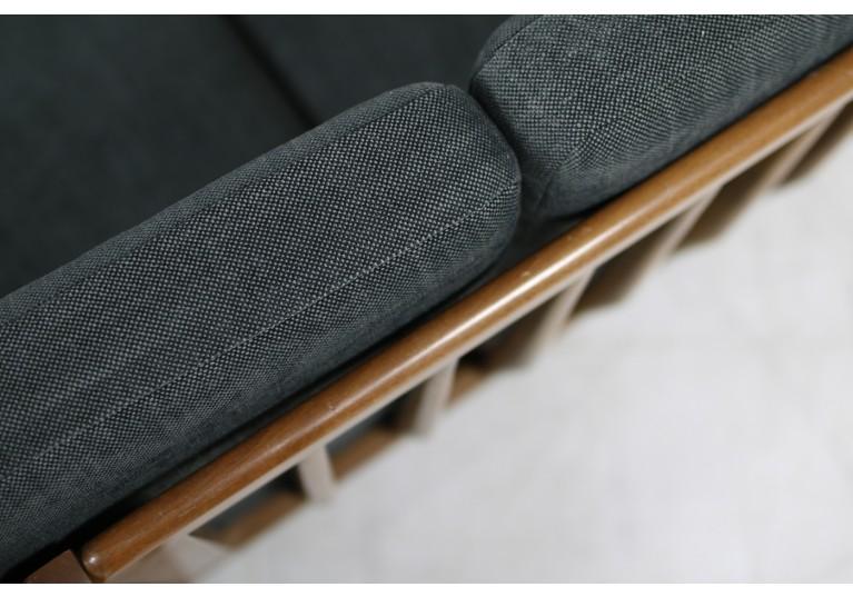 1950s Italian Mid Century Organic Lounge Sofa Beechwood