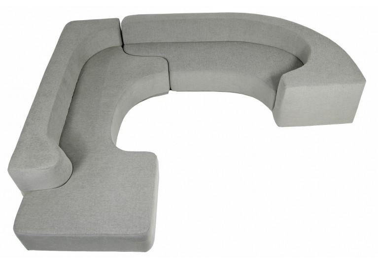 60er Sofa, Model Lara, Roberto Pamio, Italy, Modular Sofa, Seating Landscape