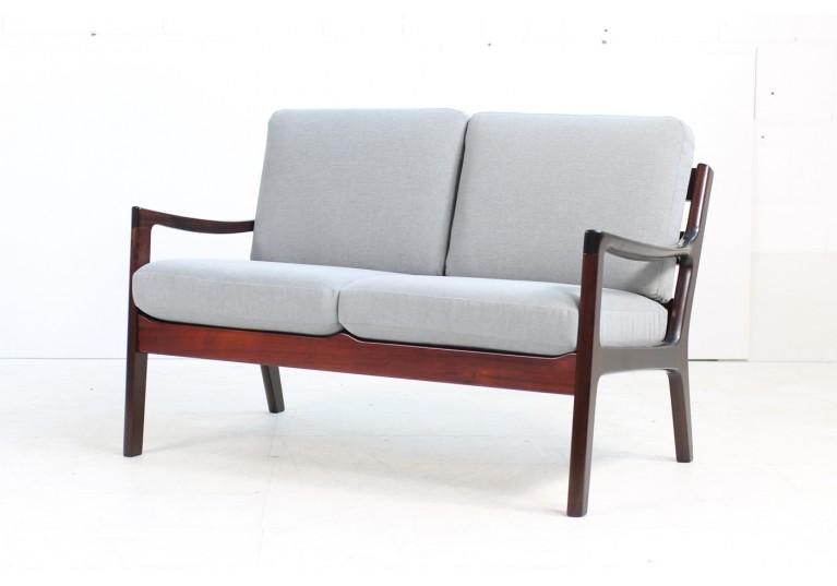 60er Sofa, danish modern, Ole Wanscher, Senator, Poul Jeppesen, Denmark, 50er Sofa, 2-Sitzer