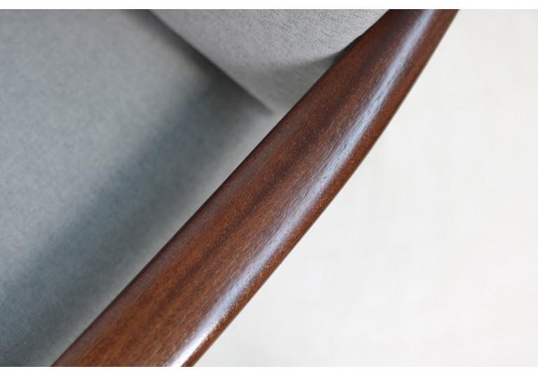 60er Sofa, Ole Wanscher, Mahagoni, Poul Jeppesen, PJ Denmark, danish modern design, mid century, 50er Couch