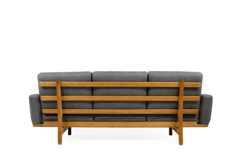 50er Hans Wegner Sofa, Eiche, Danish Modern, 60er, Mod. GE 236