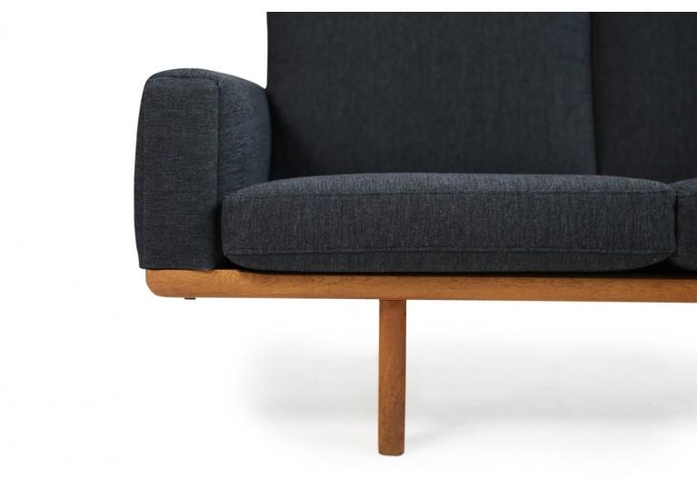 Hans Wegner Sofa, Eiche, Danish Modern, 60er, Mod. GE 236