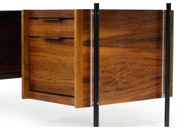 60er Schreibtisch, Sven Ivar Dysthe für Dokka Mobler, Norway, Vintage, Sideboard