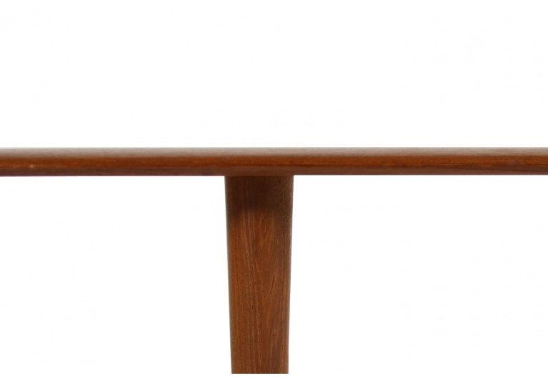 60er Teak Tisch, coffee table, danish modern, denmark, Peter Hvidt