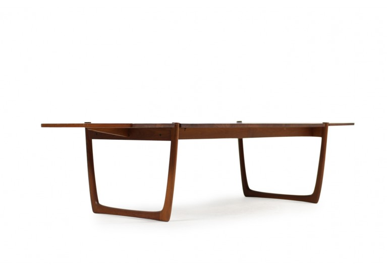60er Teak Couch Tisch, danish coffee table, Danish Modern Design