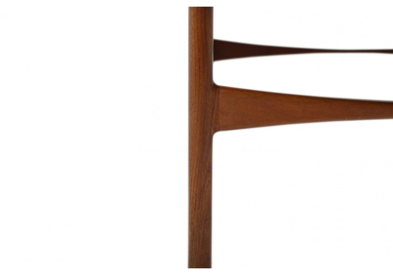 60er Teak Tisch, coffee table, danish modern design, Ejner Larsen & Bender Madsen für Willy Beck
