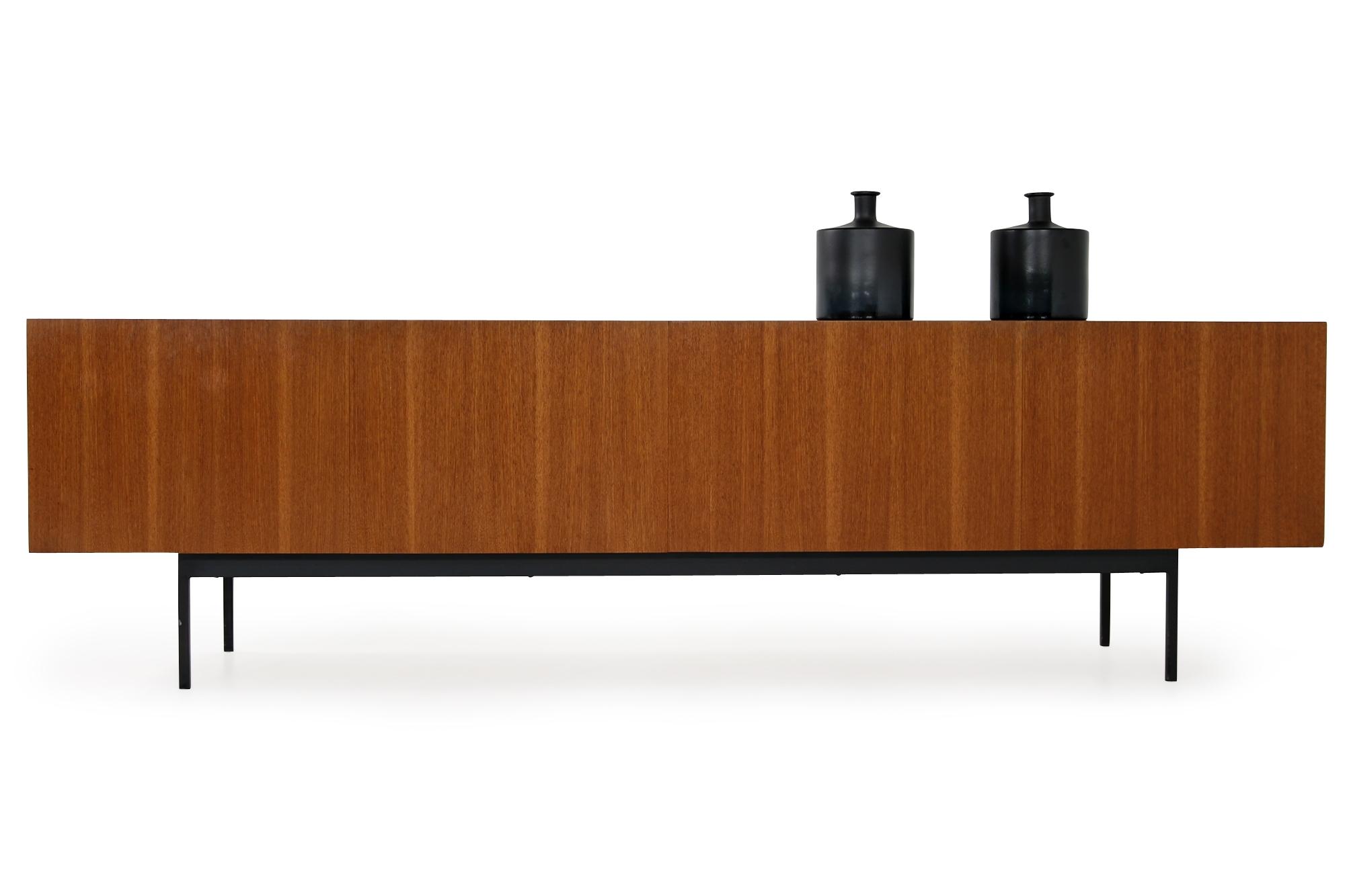 60er teak sideboard, Behr, B40, Behr B 40, dieter waeckerlin, wäckerlin, 1960s, minimalist